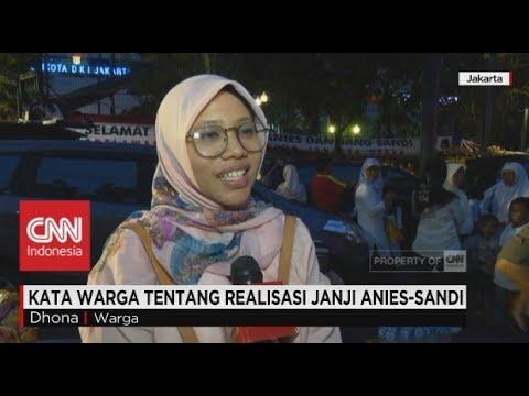 Kata Warga Tentang Realisasi Janji Anies-Sandi