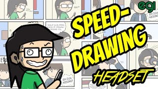 Speed Drawing: Headset