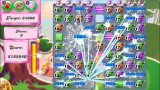 Candy Crush Saga Level 1132 ★★★ 3 STARS! No Boosters - 14,409,220 pts (Many bombs! Hehehe!)