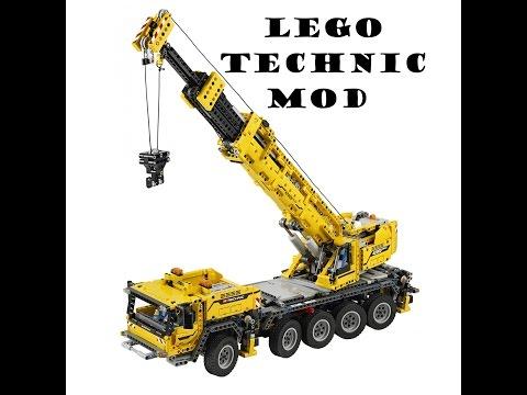 LEGO TECHNIC MOBILE CRANE MOD