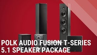 Gambar cover Polk Audio T- Series 5.1 Channel HT Package - Quick Look India