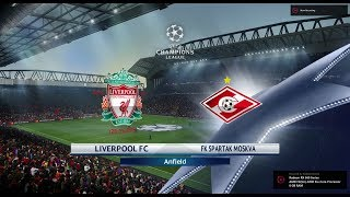 Liverpool vs Spartak Moscow  Highlights - UCL HD