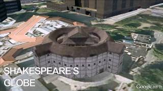 http://bit.ly/1bzLMw7 - Shakespeare's Globe Theatre - Google Earth