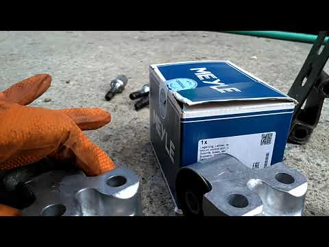 How to replace the rear suspension trailing arm bushings on FWD Volvo 850, S70, V70, V70 GLT – VOTD