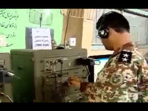 Iran tropospheric scatter and 'Rased 32' communication systems