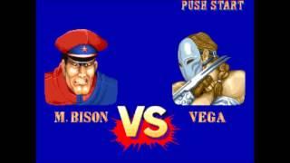 Street Fighter 2 Hyper Fighting (Arcade) M. Bison Playthrough 3/4