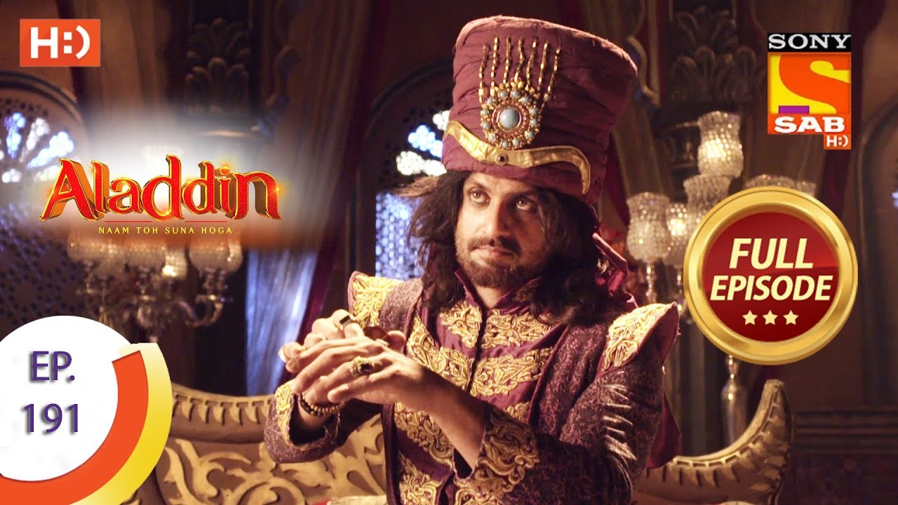Download Aladdin - Ep 191 - Full Episode - 9th May, 2019
