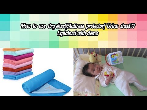 how-to-use-drysheet/-urine-sheet/-mattress-protector?--explained-with-demo/-bed-wetting