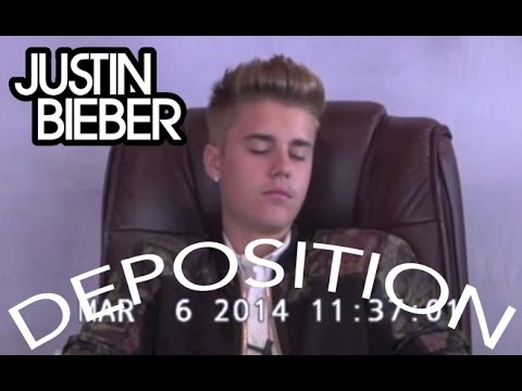 Justin Bieber Deposition - FULL VIDEO - 31 minutes [EXCLUSIVE]