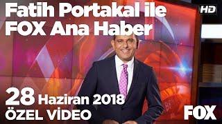 Okul birincileri bile endişeli... 28 Haziran 2018 Fatih Portakal ile FOX Ana Haber