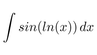 Integral Sin Ln Parts