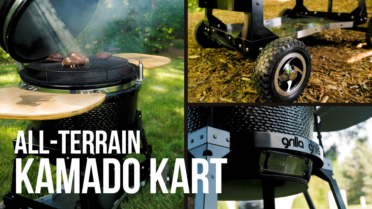 Mark Graham Talks About the NEW All-Terrain Kamado Kart for Most Egg Style Smokers | Grilla Grills