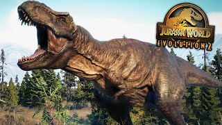 THE T.REX Species Field Guide - Jurassic World Evolution 2 | HD