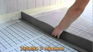 как сделать термошов в бетоне