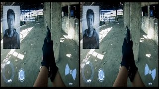 VRin - Virtual Reality Action - Assassination - 3D - SBS - google cardboard