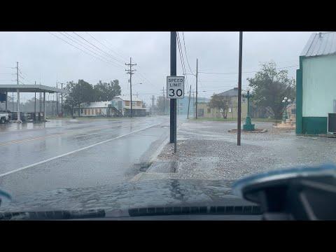 LIVE Hurricane Ida intercept in Houma LA