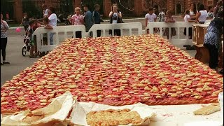 Сьедают так быстро, что не успевает остыть!Узбекские пирожки по Ташкентски!!Гумма!Дядя Лёня!Ташкент!