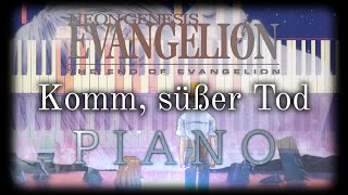 Komm, süßer Tod [Come, Sweet Death] - The End of Evangelion | Piano Cover