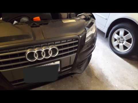 Plastidip Audi Front Grill (Dechrome) Short Tutorial