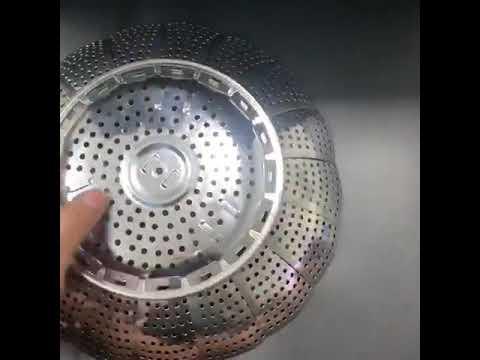 CPMAX 萬用不銹鋼折疊蒸籠盤 伸縮蒸盤 多功能伸縮水果盤 小籠包蒸格 蒸籠 蒸屜 多功能 不銹鋼蒸籠【H246】