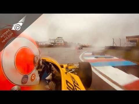 On-Board with David Shaw - Classic F3 in the wet at Thruxton