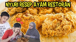 RESEP FRIED CHICKEN SUPER RENYAH,MASAKAN BINI