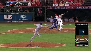 KC@LAA Gm1: Freese sends a solo shot to left field