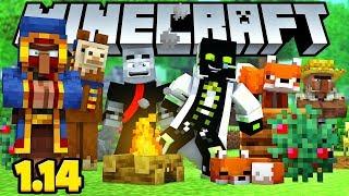 ROMAN UND LARS SPIELEN Minecraft 1.14!!  - Minecraft 1.14 [Deutsch/HD]