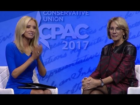 CPAC 2017: Betsy DeVos Speech (Full) | ABC News