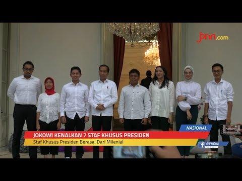 7 Staf Khusus Presiden Jokowi, Semua Muda, Ganteng, Cantik