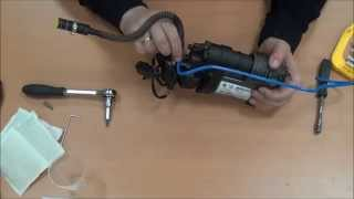 Разборка сборка компрессора Touareg NF