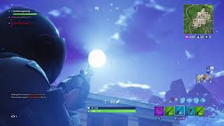 Giant asteroid is destroying tilted towers real first look footage fortnite battle royale