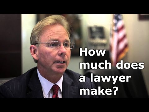 how much does a lawyer make