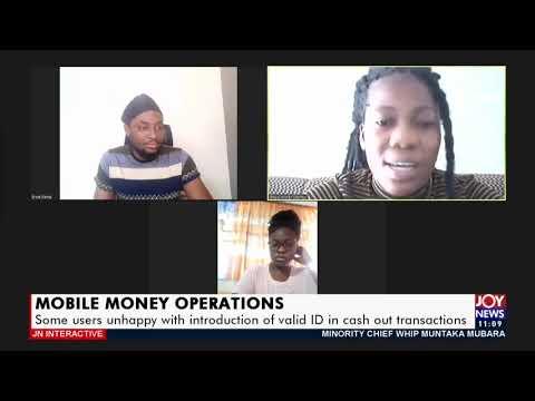 Mobile Money Operations - JoyNews Interactive on JoyNews (1-4-21)