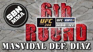UFC 244 | Masvidal DEF. Diaz | The 6th Round SBN MMA Post-Fight Show