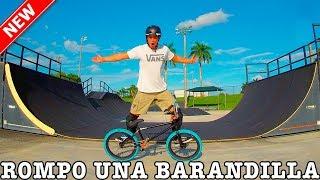 Video VISITO SKATEPARKS EN USA Y ROMPO UNA BARANDILLA!! - Miami vlog #2 download MP3, 3GP, MP4, WEBM, AVI, FLV Agustus 2017