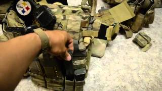Crye Precision AVS Plate Carrier in Afghanistan