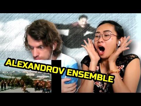 "Russian ""Soldier's Dance"" - The Alexandrov Ensemble (1965) | Couple Reaction"