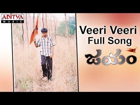 Veeri Veeri Full Song II  Jayam Movie II Nithin, Sadha