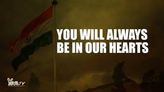 Salute to our brave soldiers :: We remain indebted to you & your brave families - Kargil Vijay Diwas