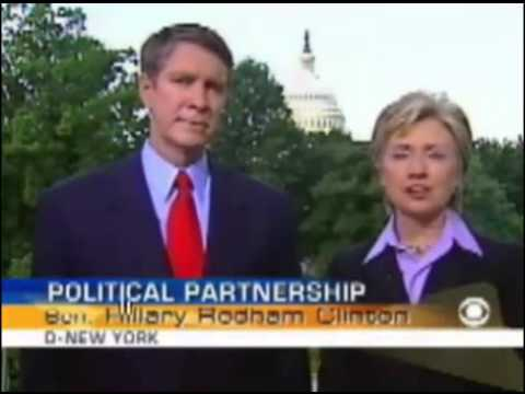 Hillary Clinton and Bill Frist in joint interview on health (2006)
