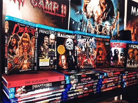 My ENTIRE Scream Factory BLU-RAY Movie Collection