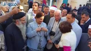 بالفيديو : محافظ البحيرة وحفيد شامبليون يتفقدان قلعة قايتباى والمعالم الأثرية برشيد+