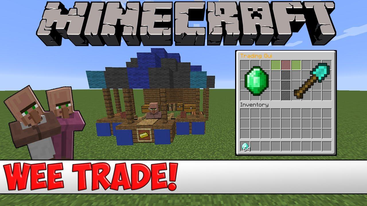 Minecraft Plugin Tutorial - Wee Trade
