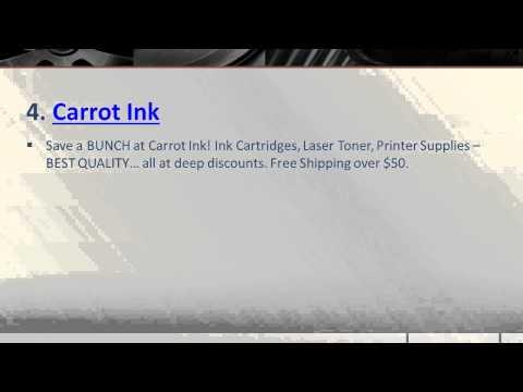Top 10 Websites to Buy Cheap Ink Cartridges Online