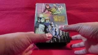 UNBOXING Star Wars The Clone Wars Seasons 1-5 Collector
