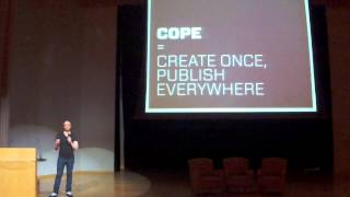 "COPE CMS ""Create Once, Publish Everywhere"" - Rasmus Skjoldan - FOSSASIA Summit 2015"