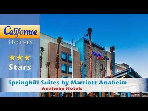 Springhill Suites by Marriott Anaheim Maingate, Anaheim Hotels - California
