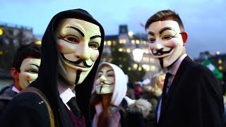 A for Anonymous | A Million Mask March London 2014 (Documentary)