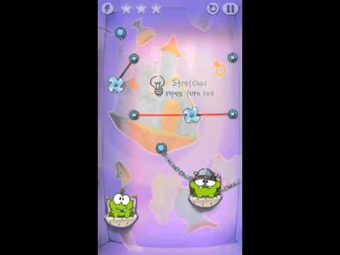 Cut The Rope Time Travel Level 1-10 Walkthrough | The Middle Ages Level 1-10 Walkthrough